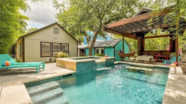 Heated Pool + Backyard Oasis - The Darling Dancy | Professionally Cleaned + Hosted By GuestSpaces