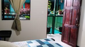 Down comforters, free WiFi, linens, wheelchair access