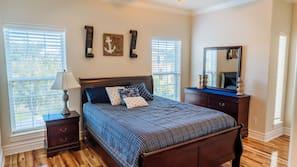 3 quartos, individualmente decorados, individualmente mobiliados