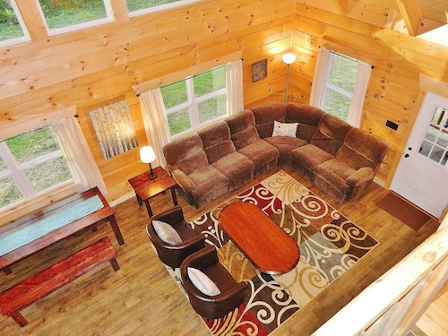 New Construction! Cabin 15min Asheville 3br/2ba 5min Montreat, In-town Blk Mtn