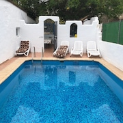 Villa With 4 Bedrooms in San Isidro de Abona, With Wonderful sea View, Private Pool, Enclosed Garden - 9 km From the Beach