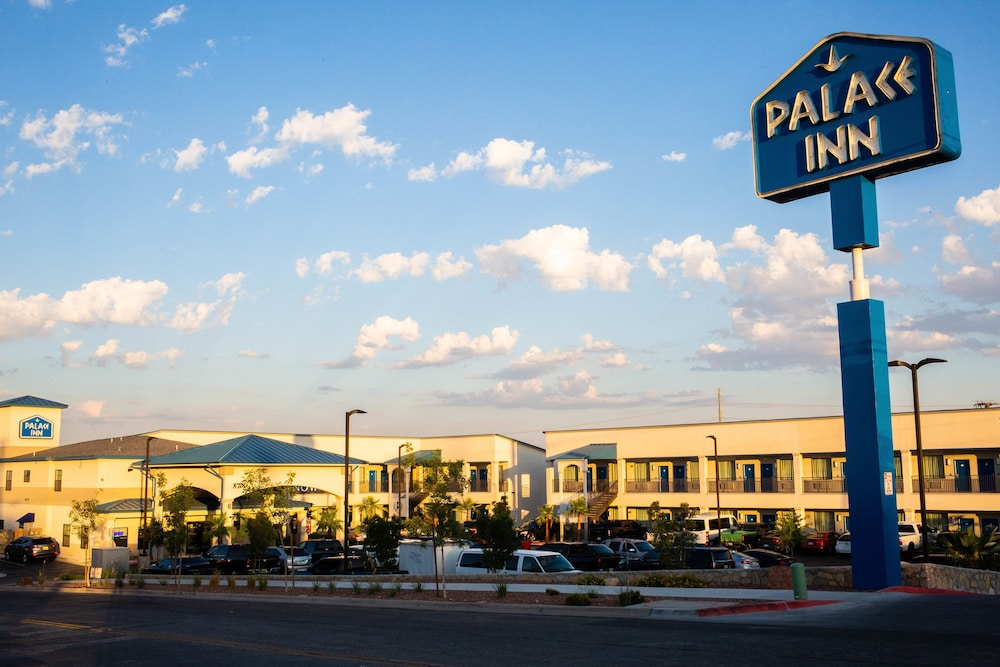 Exterior detail, Palace Inn
