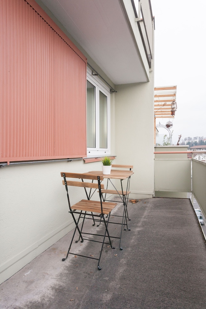 Terrace/Patio, Galaxy Apartments