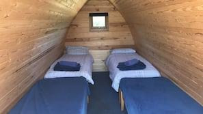Free cots/infant beds, linens
