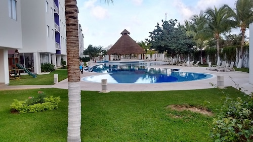 New! Marias Place Entire Apartment 2 Bedrooms, Pool, Palapa, A/c, Jacuzzi