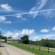 Beautiful Southern Vermont Farmhouse on 100 Acres, Spectacular Views, Swim Pond