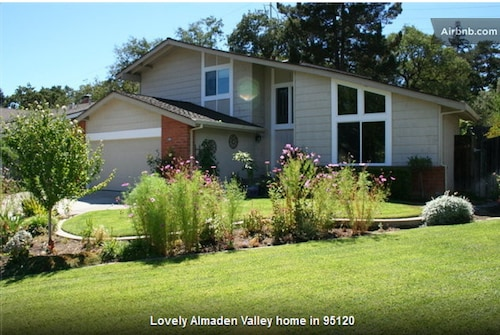 Beautiful 4 Bedroom, 3 Bath Home, Nicest Part Of San Jose