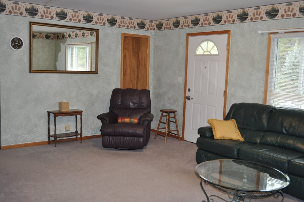 Living Room, 72nd Street House Located Near the Pere Marquette River Fly Only Section