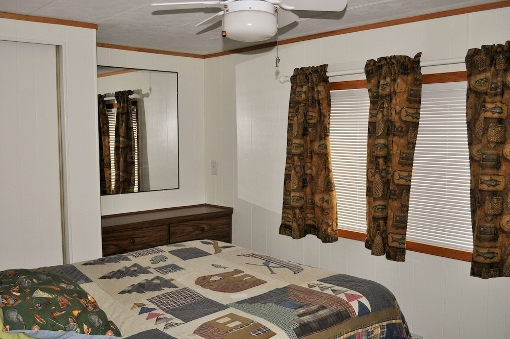 Room, 72nd Street House Located Near the Pere Marquette River Fly Only Section