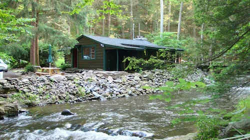 Get Cozy at Big Al's Poconos Creek House - Wireless DSL & Trout!!