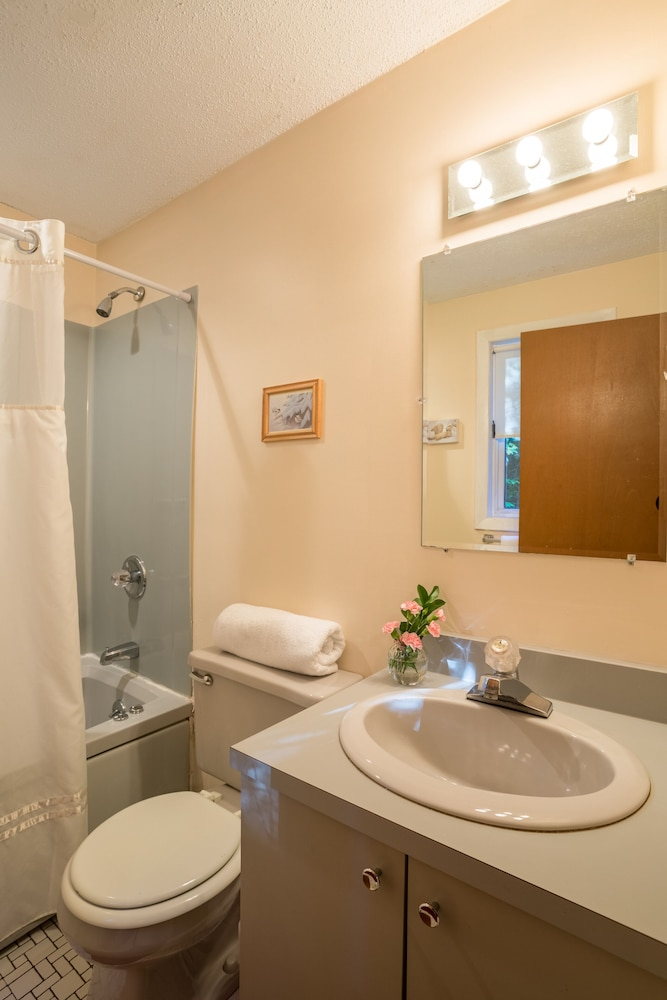 Bathroom, Resort Home With Private hot tub , Fireplace, Pools, Pond, Wifi