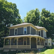 Enjoy Tappan Lake in 1860s Victorian Home in Quaint Deersville