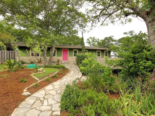 Great Place to stay Cozy Home in the Hills of West Austin. 5 Miles From Downtown. Sleeps 5 near Austin
