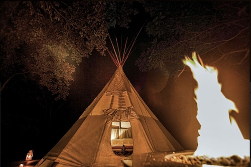 The Magic Tipi Retreat Offers a Unique Ozark Escape