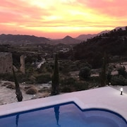 Stunning Mountain top 5 Bedroom Farmhouse, Heated Pool Near Murcia, Costa Blanca
