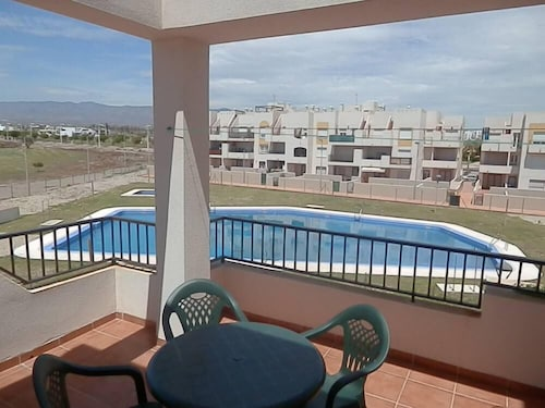 Cabo DE Gata; Apartment 2 Terraces, Golf Course, Beaches, Pools, Paddle, Plenty of Sunshine