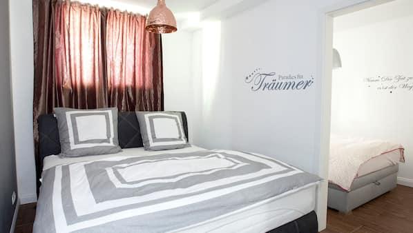 2 soverom, internettilgang og sengetøy