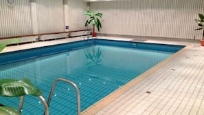 Indendørs pool, en opvarmet pool