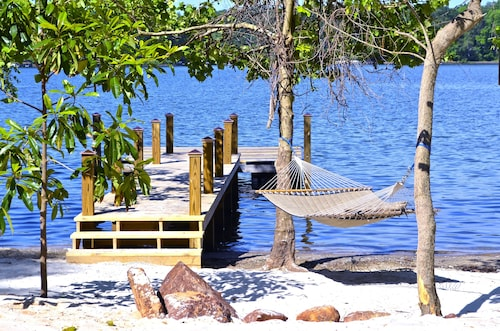 Intimate Hideaway With Beach, Dock, Hot Tub, Pontoon Rental Availability, etc