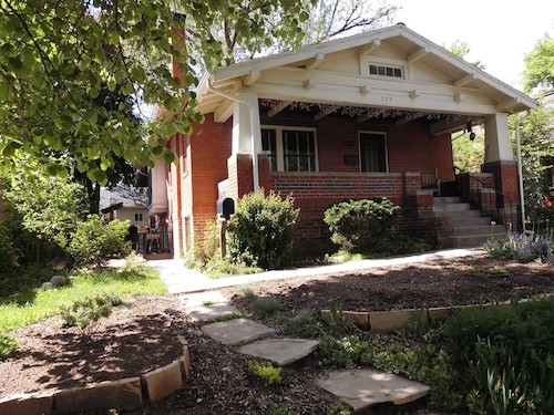 Sunny 2 BR Garden Level Apt In Historic Fort Collins Old Town Bungalow