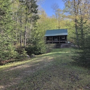 Beautiful Off-the-grid Cabin. Next to A.t. in Andover Notch
