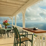 Spyglass is a Private Villa With 360 View Near Windwardside