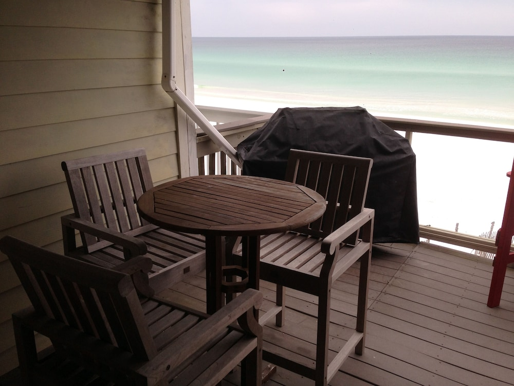 Terrace/Patio, Sticks In The Sand 1A, Private Beaches! 2 Bedroom, 2.5 Bth Sleeps 8