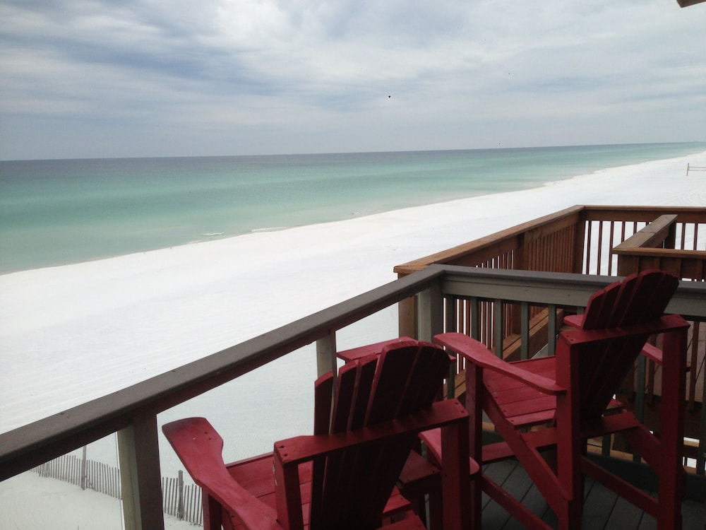 Balcony, Sticks In The Sand 1A, Private Beaches! 2 Bedroom, 2.5 Bth Sleeps 8