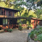 3 Br-3 BA Wine Country Retreat On 5 Wooded Acres In Sunny Carmel Valley, CA