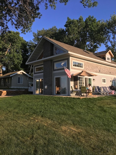Newly Built Lake Cabin On South Side Of Mille Lacs