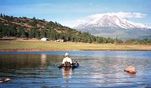 Check Expedia for Availability of 500 Acre Ranch on the Foot of Mount Shasta