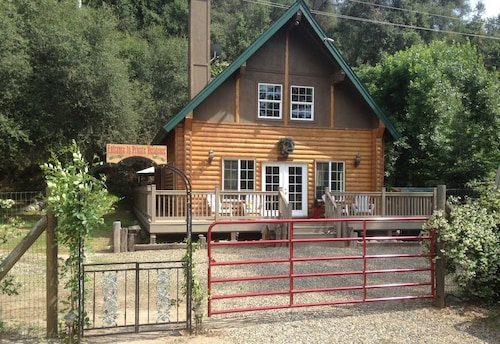 Donna's Doll House Located 4.5 Miles From Sequoia National Park