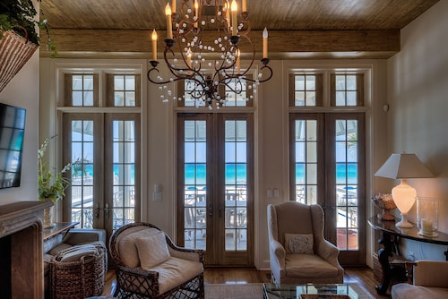 Extraordinary Gulf Front Beach House & Private Walkover - Rosemary Beach Area
