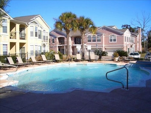 Immaculate Condo in Gated Community Across From the Beach