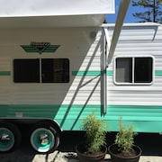 Retro Trailer on the Farm