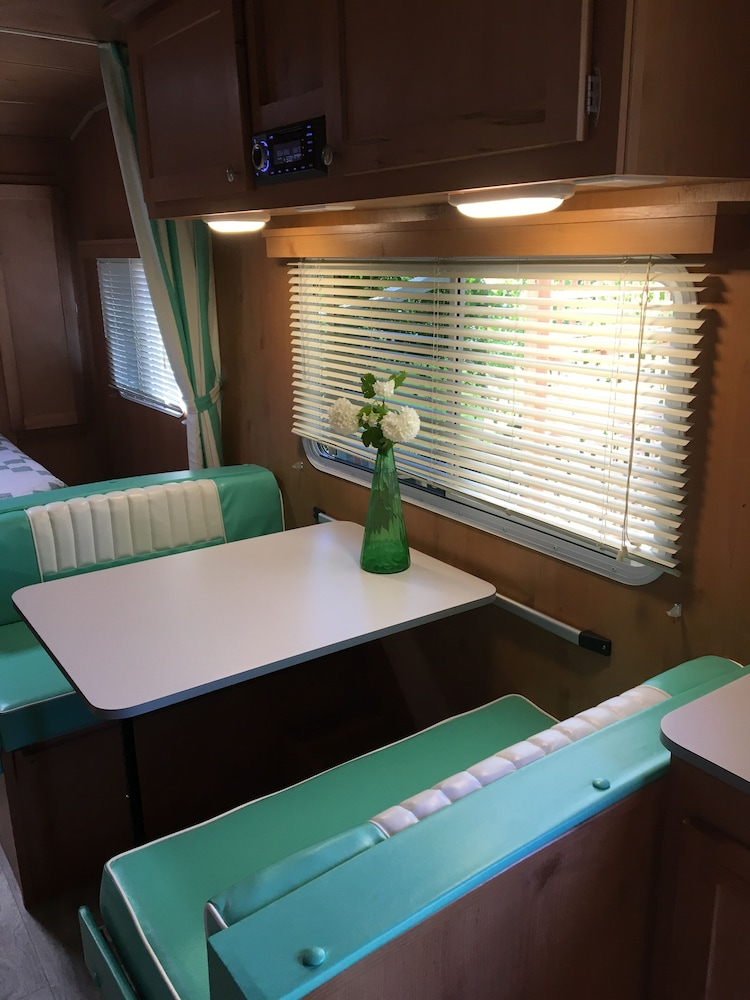 In-Room Dining, Retro Trailer on the Farm