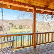 3bd/3ba Cabin Located in The Lakes on Seven Devils, Mtn and Lake Views, Hot Tub, Game Tables, & King Master Suite