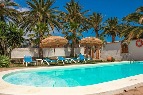 House With 2 Bedrooms in Buenavista del Nte., With Wonderful Mountain View, Pool Access, Enclosed Garden - 1 km From the Beach