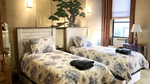 Select Comfort beds, individually decorated, individually furnished