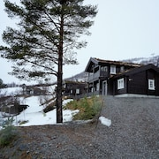 Well Equipped Cabin Sorunded With the Best of Moutains and Fjords