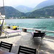 Direct on Lugano Lake: Take a Swim From Your Villa - Cottage for 4 People in Riva San Vitale