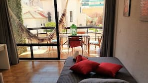 1 Schlafzimmer, Verdunkelungsvorhänge, Bügeleisen/Bügelbrett, Babybetten