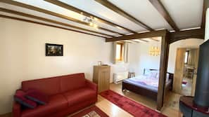 1 Schlafzimmer, individuell eingerichtet, kostenloses WLAN