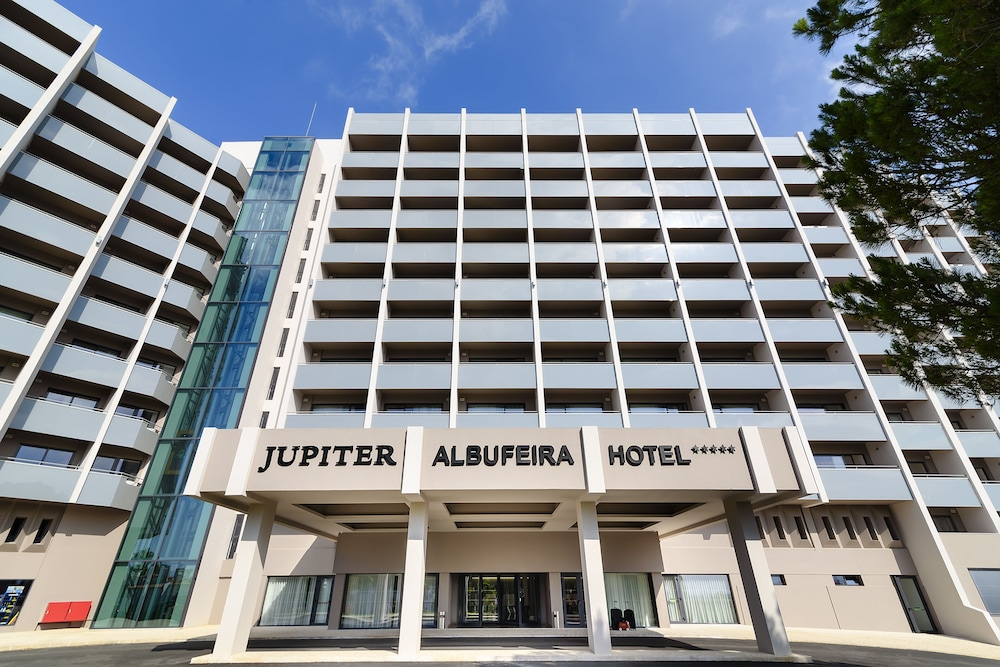Front of Property, Jupiter Albufeira Hotel - Family & Fun