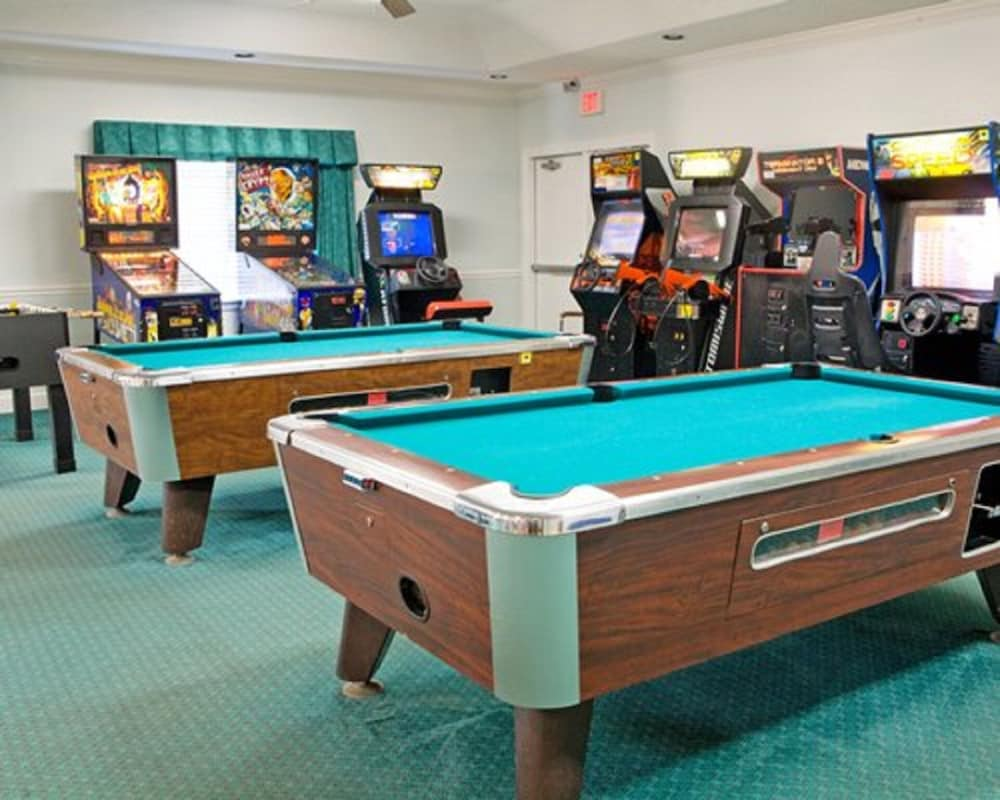 Game Room, Presidential Suites at the Plantation Resort, 3 Bedroom Suite