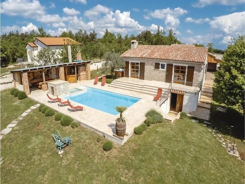 Luxury Villa With Heated Outdoor Swimming Pool, Jacuzzi, Sauna, BBQ Area
