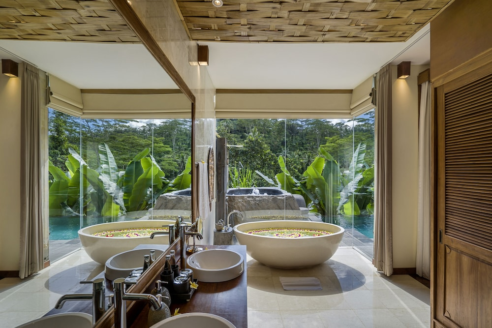 Jetted Tub, The Kayon Jungle Resort by Pramana