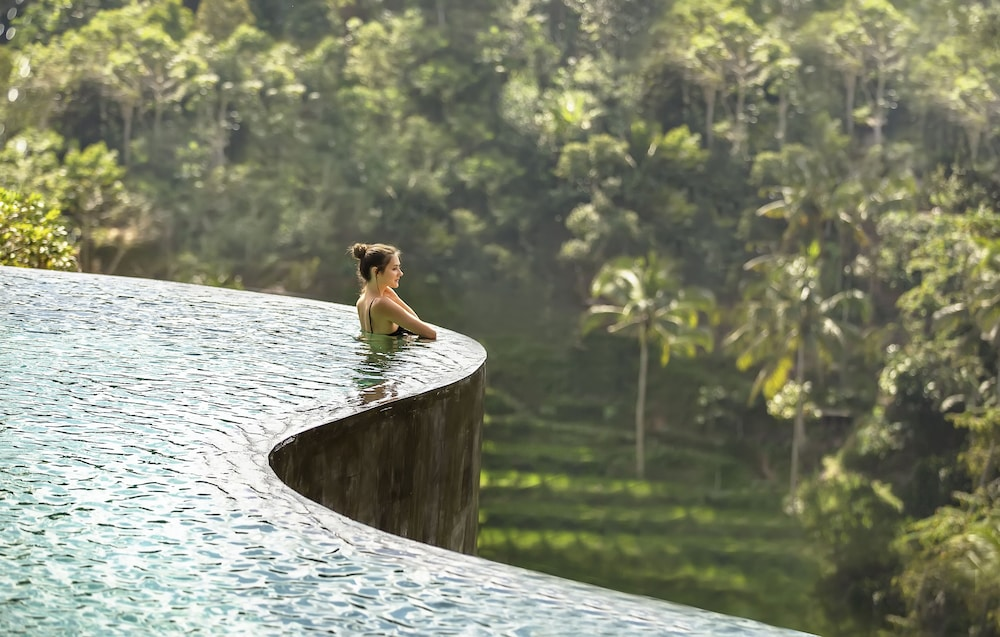 Infinity Pool, The Kayon Jungle Resort by Pramana