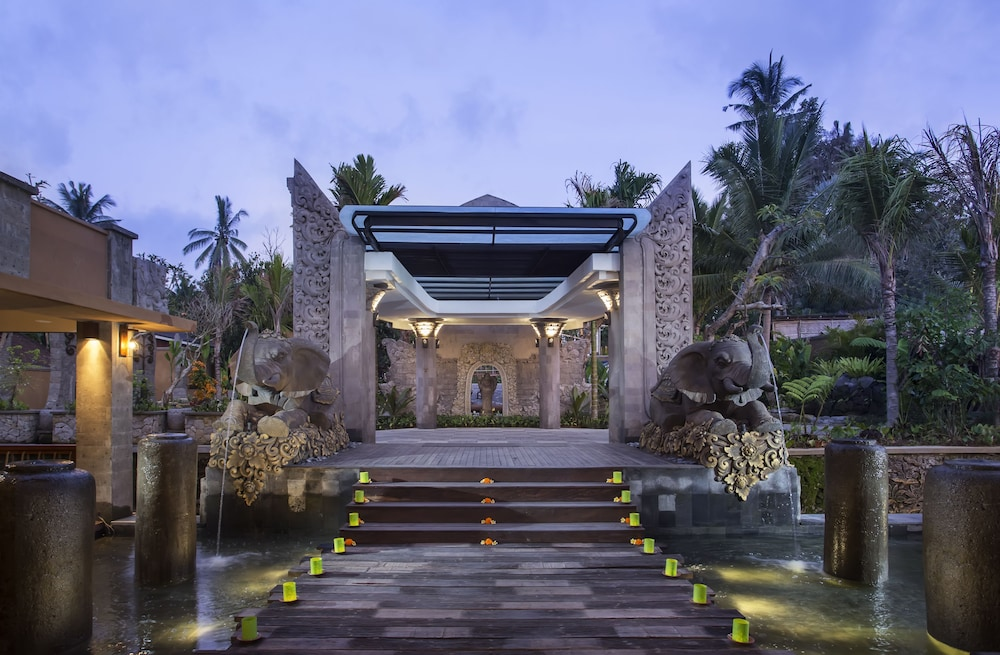 Interior Entrance, The Kayon Jungle Resort by Pramana