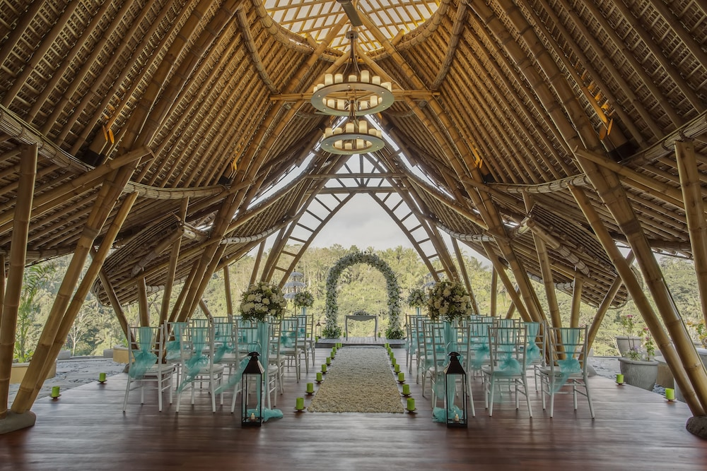 Indoor Wedding, The Kayon Jungle Resort by Pramana
